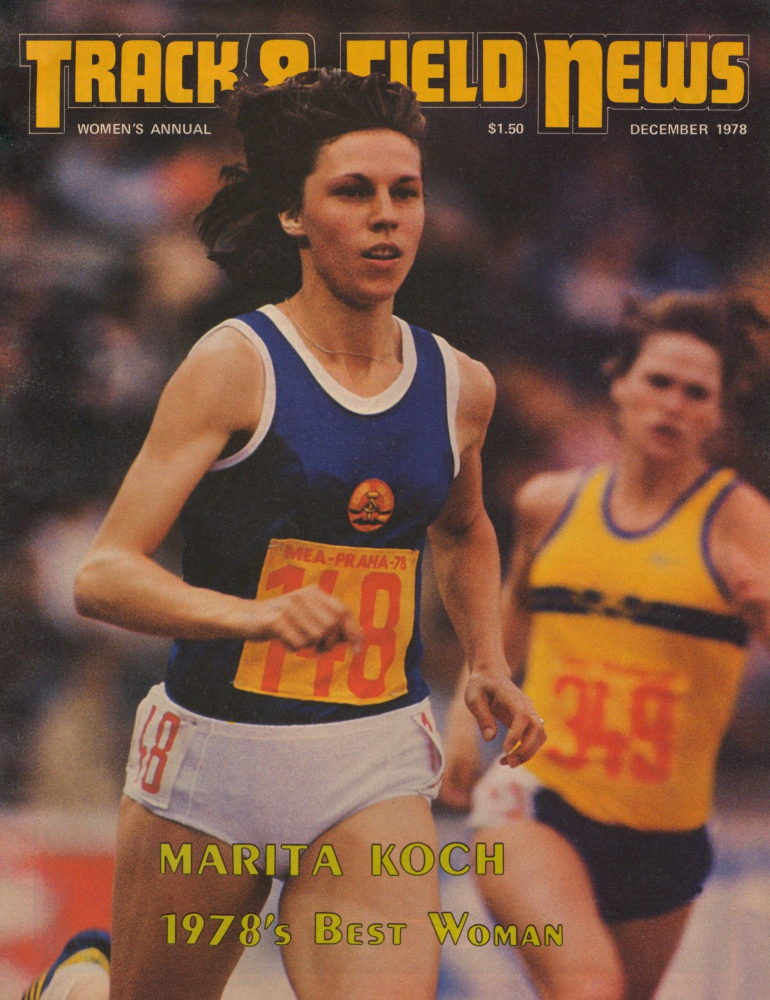 Track And Field News December 1978 Track And Field Athlete Amazing Women