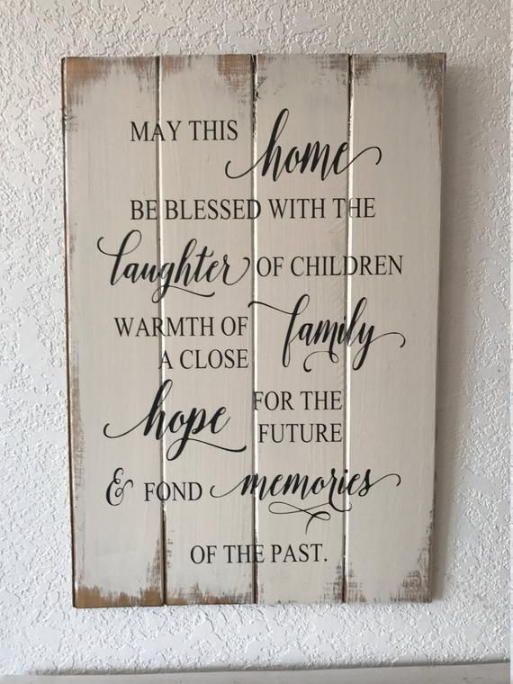 May this home be blessed with laughter of children