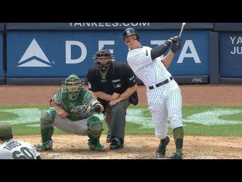 5 X2f 28 X2f 17 Judge 39 S Grand Slam Powers Yankees To Victory Youtube New York Yankees Yankees Grand Slam