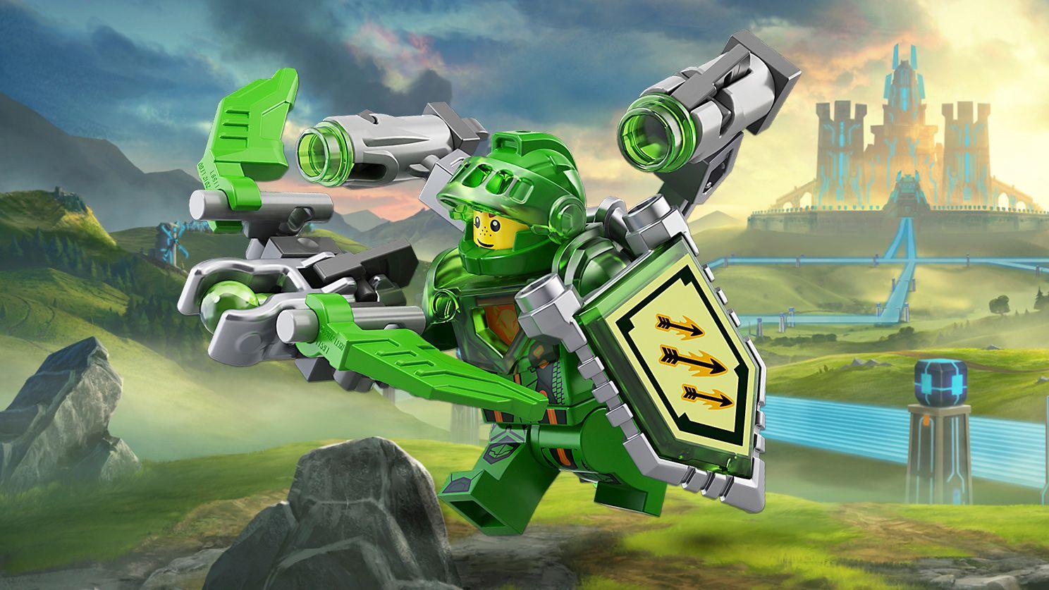 aaron  personajes  nexo knights lego  lego knights