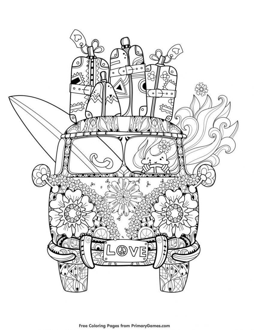Summer Images Coloring Pages Tips