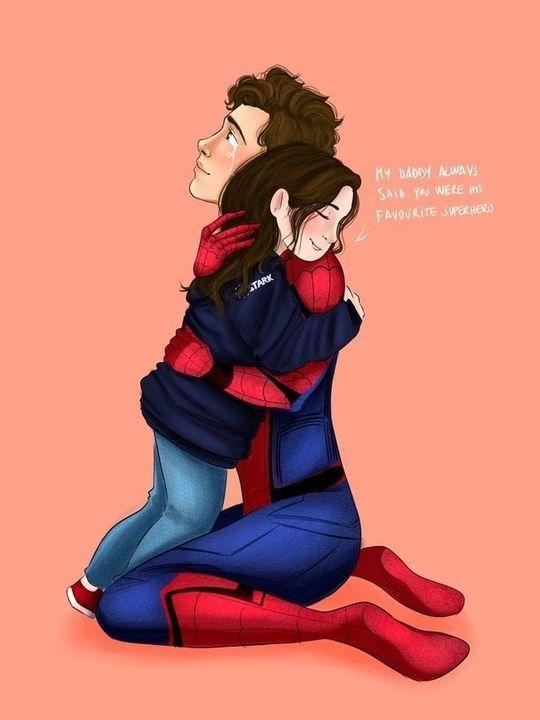 Irondad Oneshots/ Peter Parker/ Tony Stark - Ready for sadness?