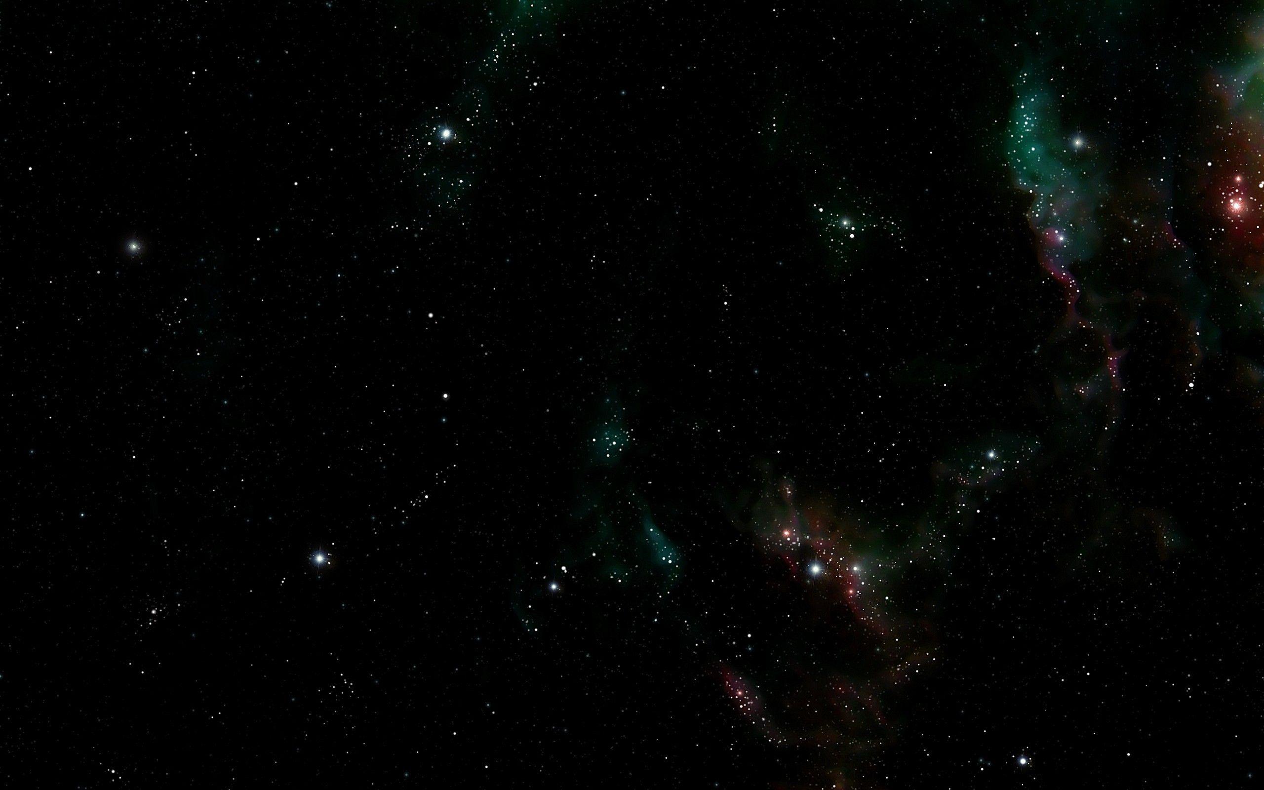 Widescreen Wallpaper Dark Outer Space Stars 2560x1600 Via