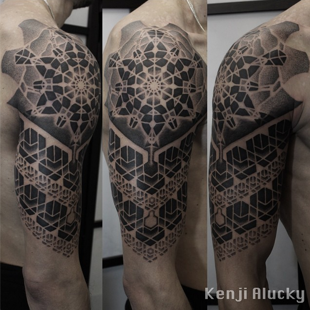 Kenji Alucky sacred geometry tattoo | Jaw Dropping Tats ...