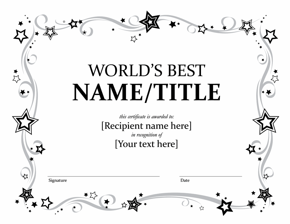 Employee award certificates templates dcbuscharter employee award certificates templates yadclub Image collections