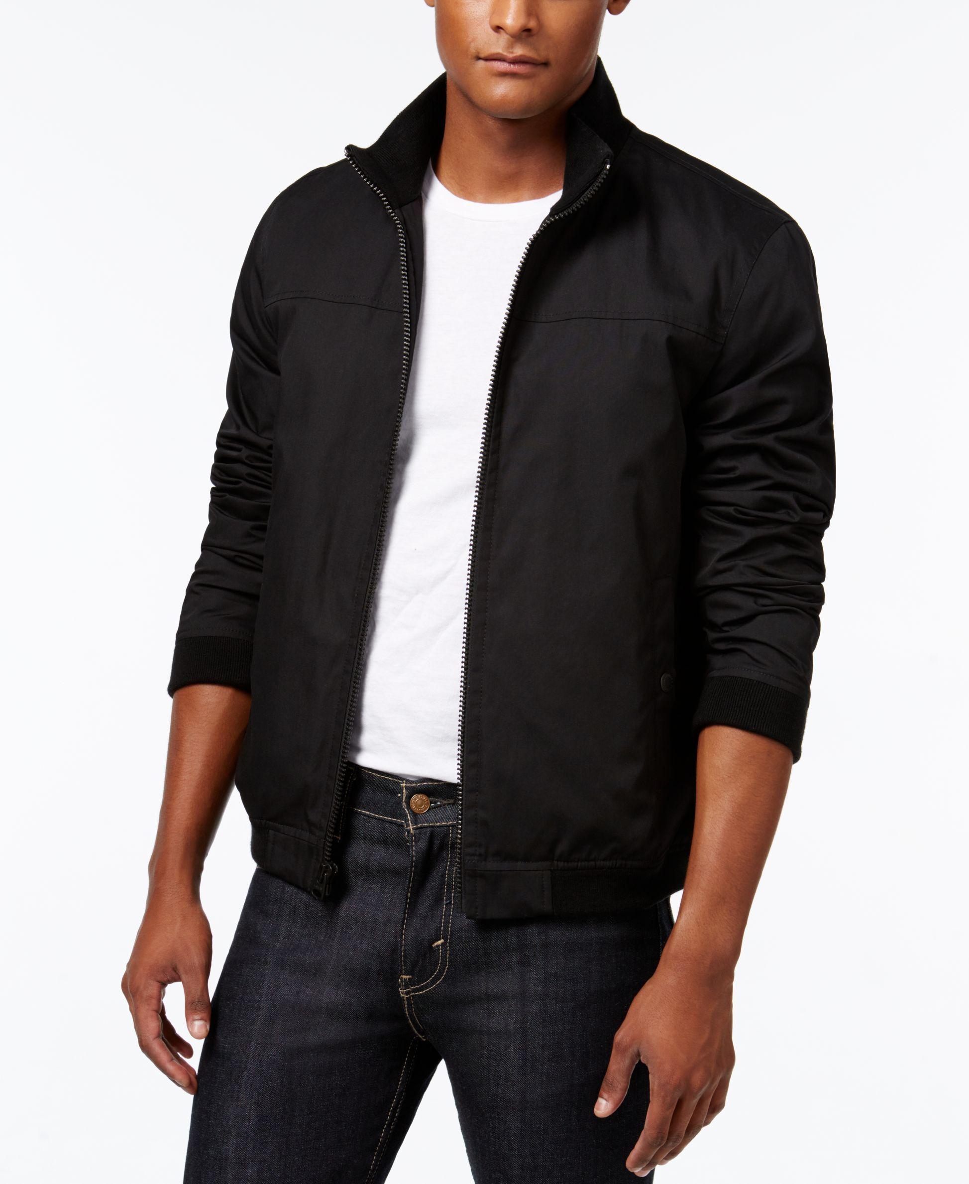 Levi S Men S Cotton Bomber Jacket Coats Jackets Men Macy S Mens Jackets Bomber Jacket Flight Jacket [ 2378 x 1947 Pixel ]