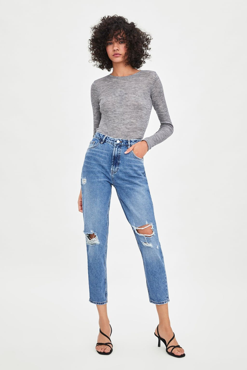2288d22776 Women's High Rise Jeans | New Collection Online | ZARA United States ...