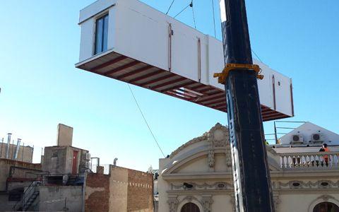 la casa por el tejado barcelona