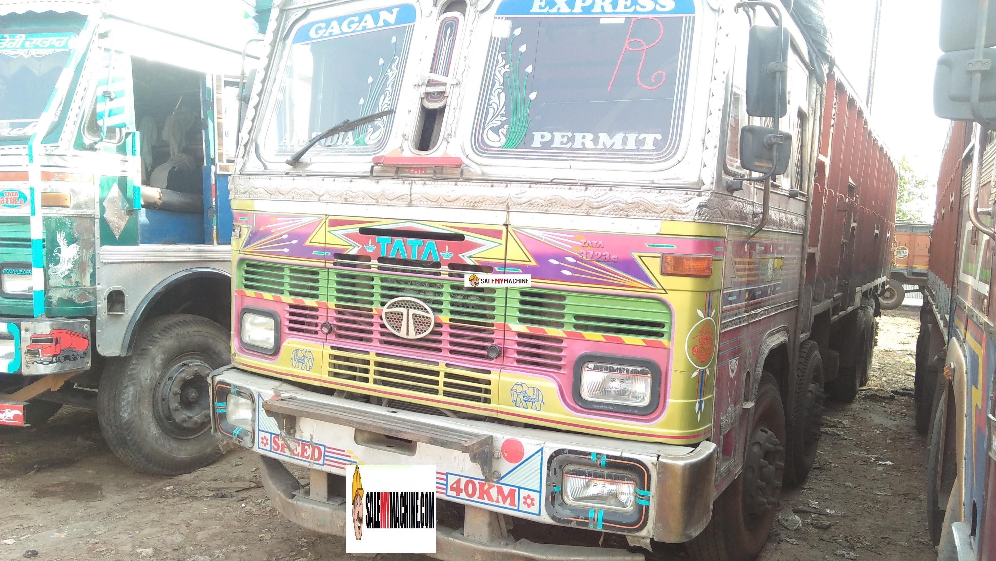 Used 18 Wheelers For Sale >> Used Tata 14 Wheeler Truck For Sale In Odisha India At