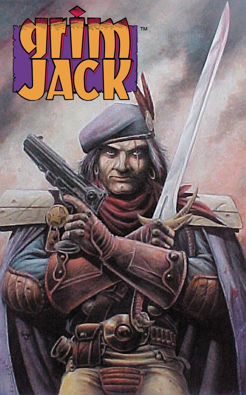 Grimjack cover art by Tim Truman  Grimjack  Pinterest  Cover art