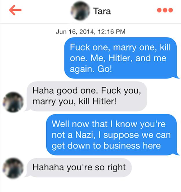 Online Dating meddelande pua