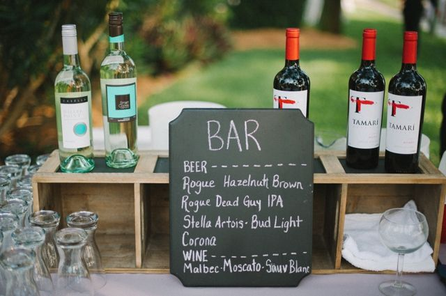Chalkboard Menu For Craft Beer And Wine Bar Photo By Sheachristine