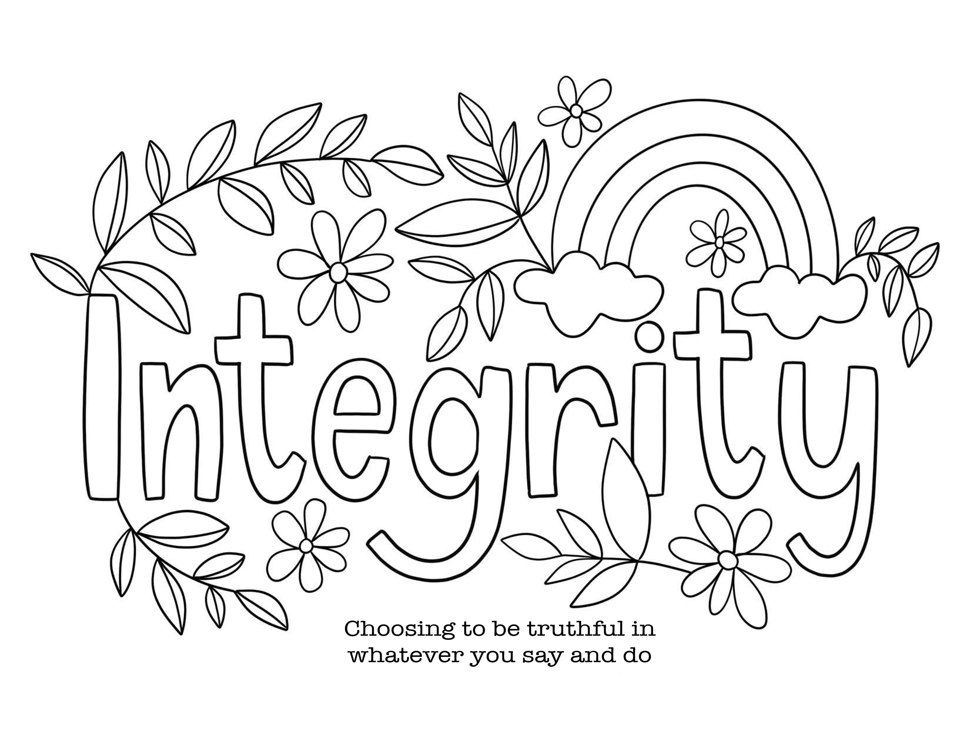 Pin On Integrity Oct 2020