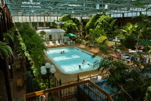 Only Minutes From The Stunning Niagara Falls And Attractions Such As Fallsview This Ontario Hotel Features An Enjoyable Pool Courtyard Well