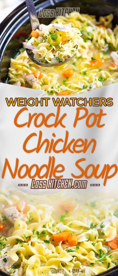 crock pot chicken noodle soup recipe an easy