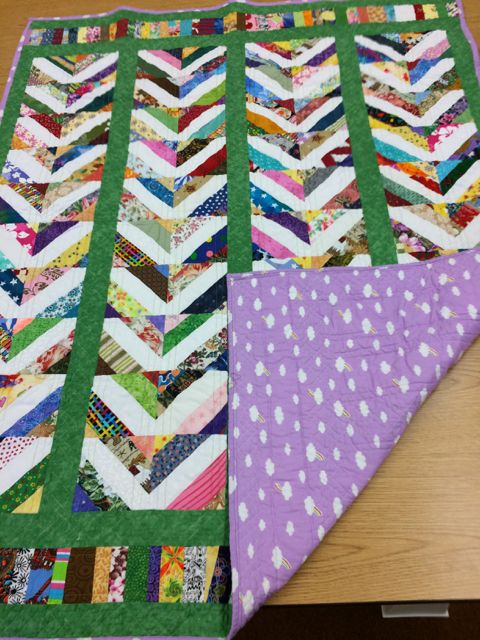 Scrap Quilt For Project Linus 2016 Quilts Scrap Quilts