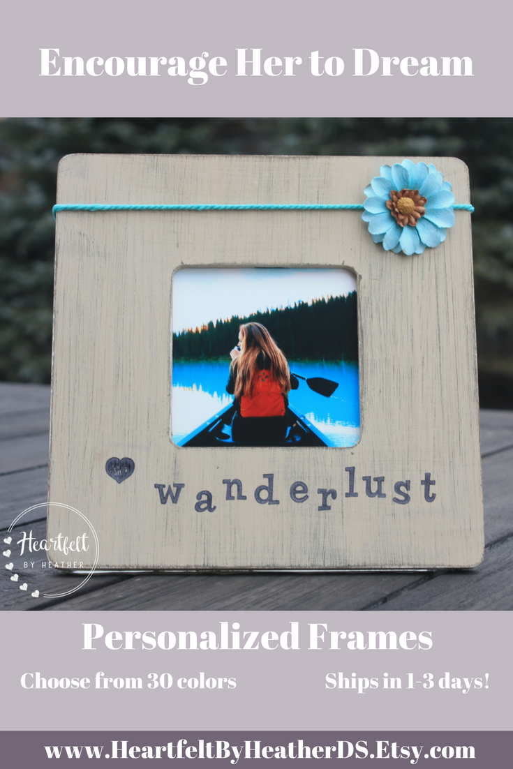 Wanderlust Rustic Frames Travel Gifts For Woman Boho Decor