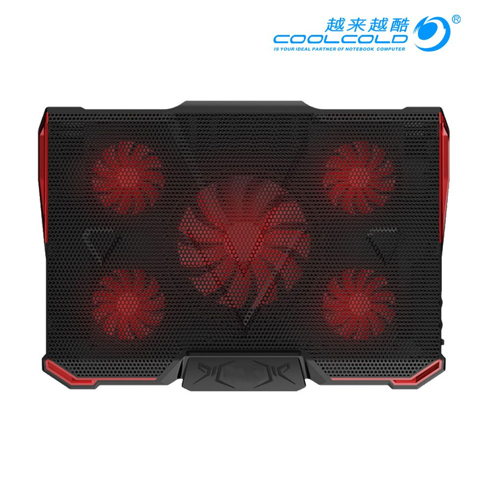"""Laptop Notebook Cooling Fan 2 USB Ports Cooler Pad Computer Stand for 17/"""" PC BE"""