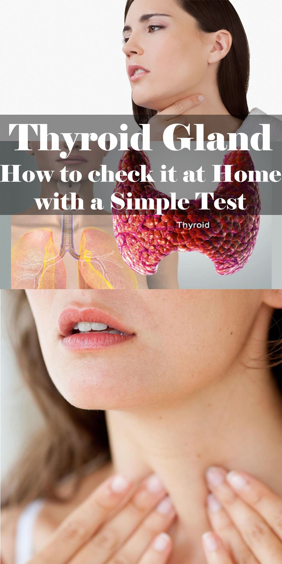 how to check for thyroid problems at home