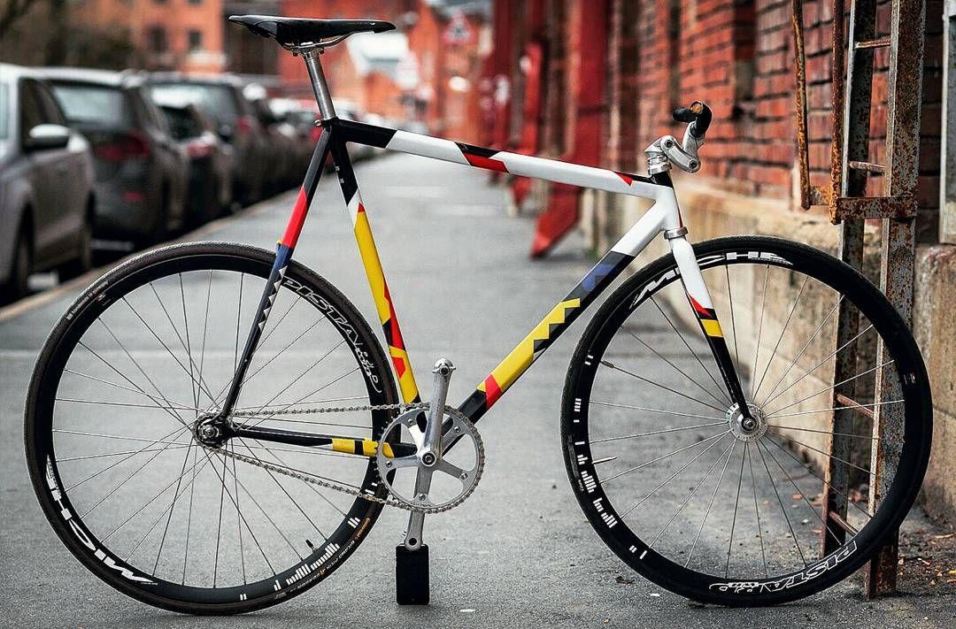 Ellipsis Workshop Custom Deimantas Track Bike Built Up For