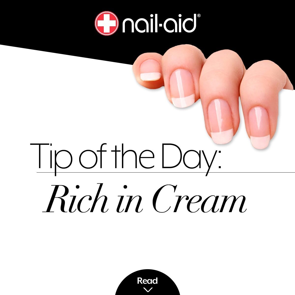 Before bed every night, use cream or lotion on your nails. This will ...