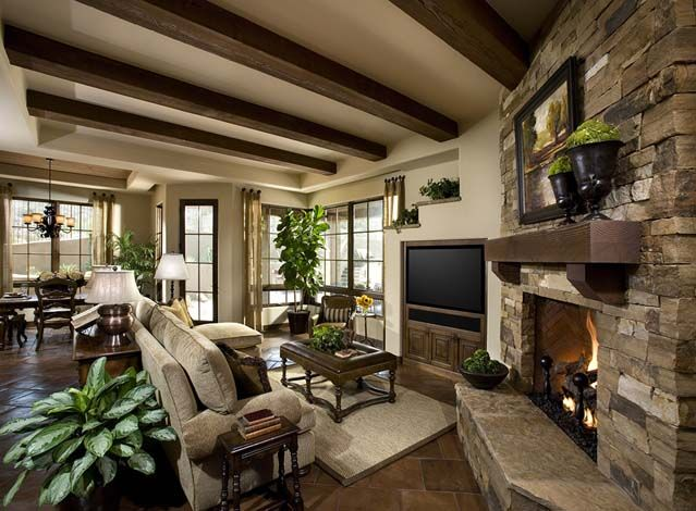 Cozy Southwest Family Room