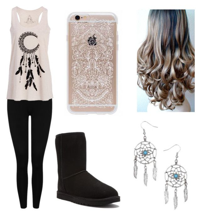 """""""Dream Catcher"""" by taylor-loves-clothes ❤ liked on Polyvore featuring M&Co, UGG Australia and Miss Selfridge"""