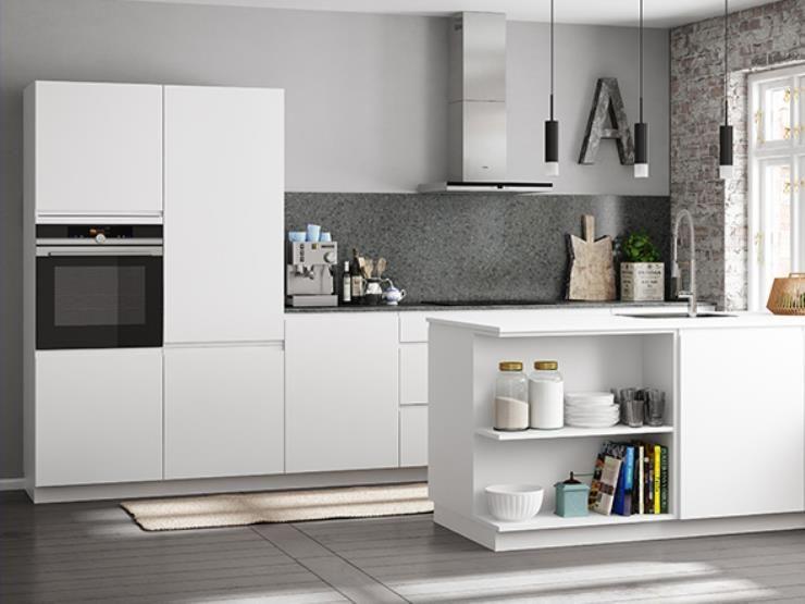 Open Kleine Keuken : Kleine keuken met een wand voor kastjes google zoeken keuken