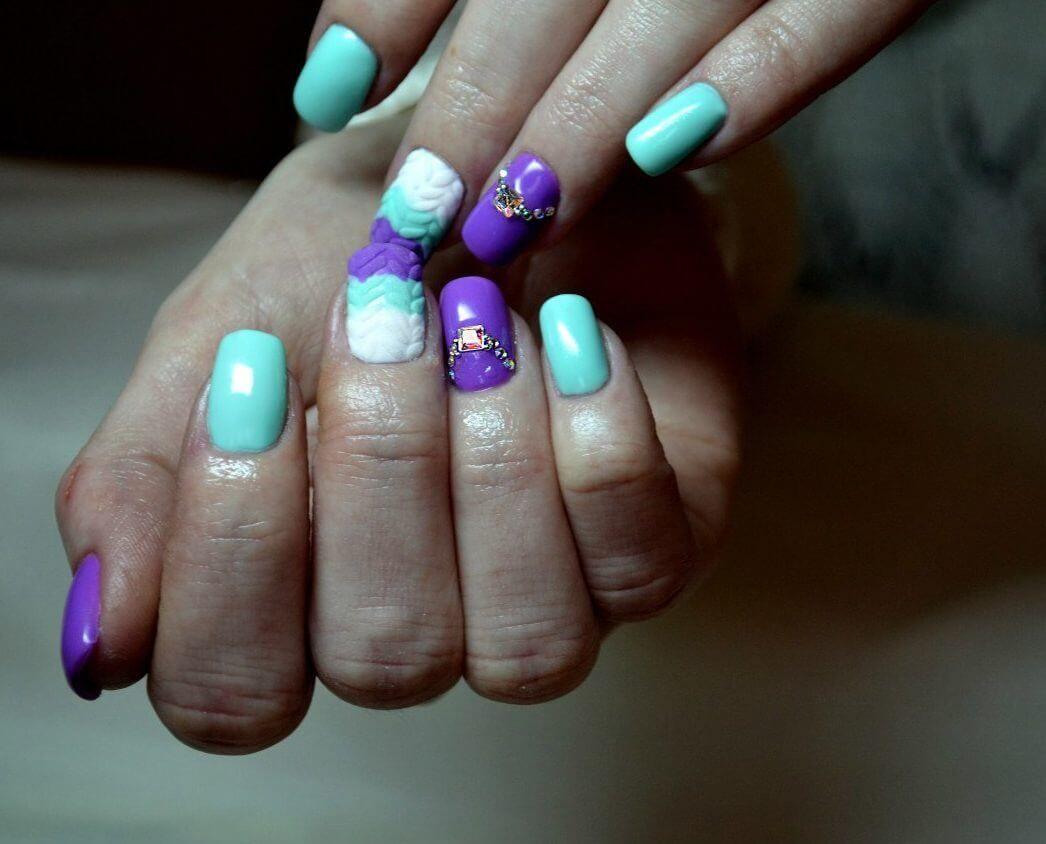 Nail Art #4482   Winter nails   Nail art design gallery