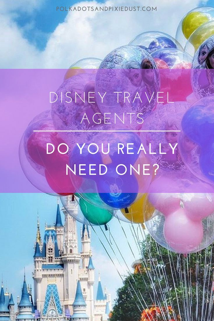 Why You Should Use a Travel Agent For Your Walt Disney ...