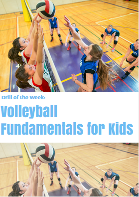 drill of the week volleyball fundamentals for kids  kids