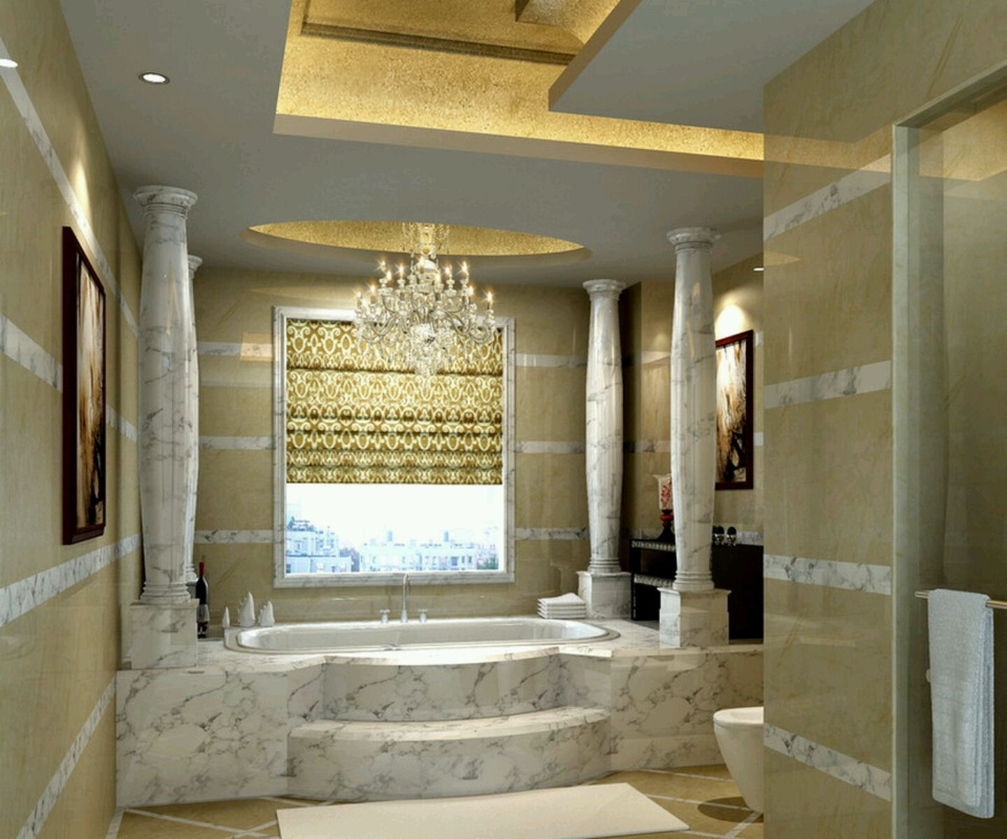 Best Master Bathroom Designs Fascinating 11 Luxurious Bathroom That Will Make You Don't Want To Leave Decorating Inspiration