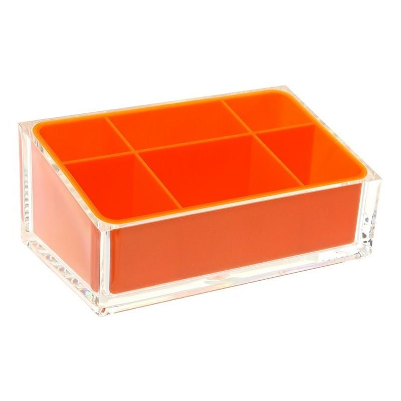 Nameeks RA00 Gedy Collection Make-Up Tray Orange Accessory Tray