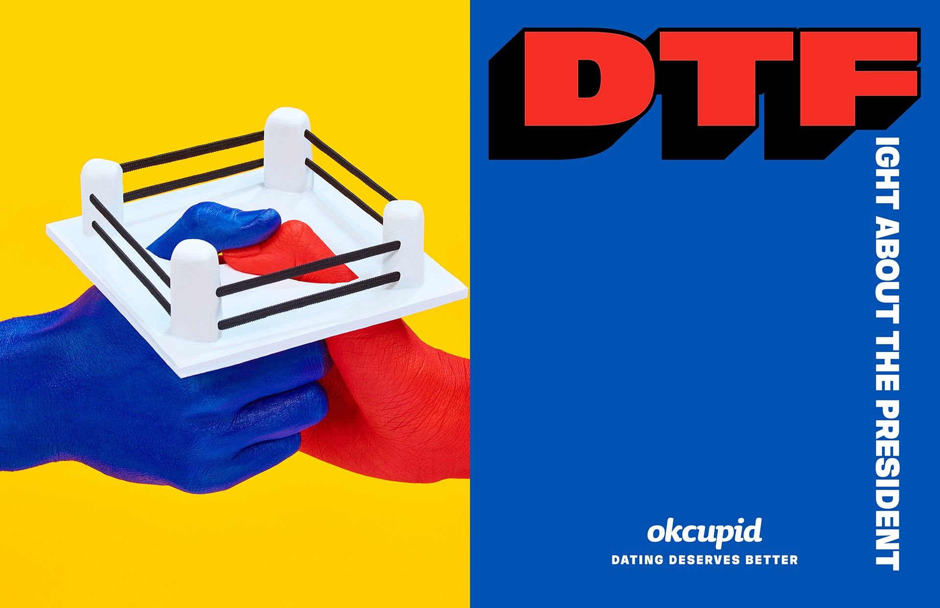 More images from our DTF campaign revealed The OkCupid