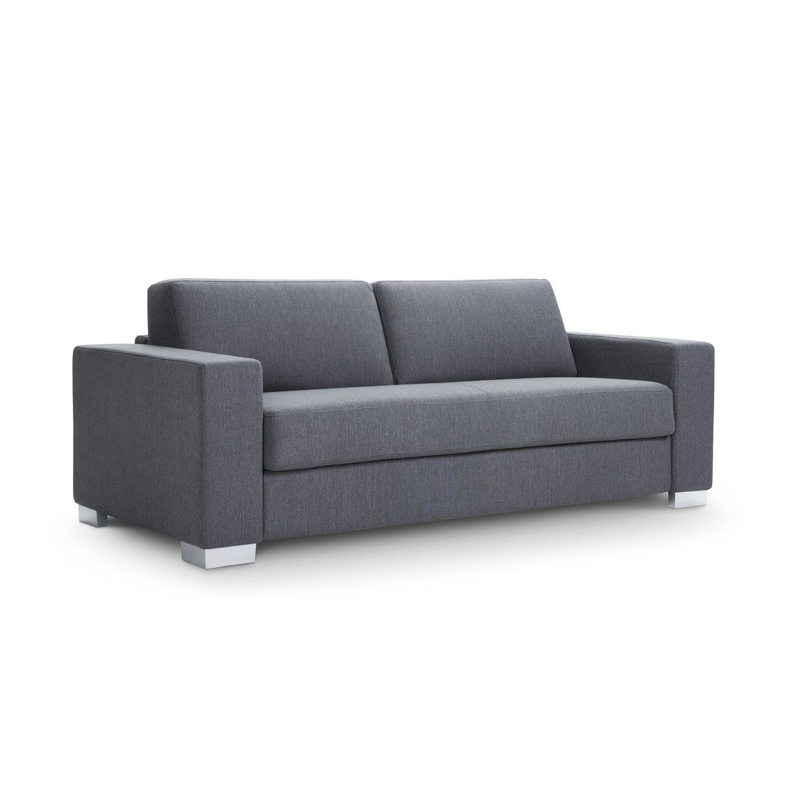 Bettsofa Interio Ch 2 5er Bettsofa Wilson Anthrazit Metall Pulverbeschichtet