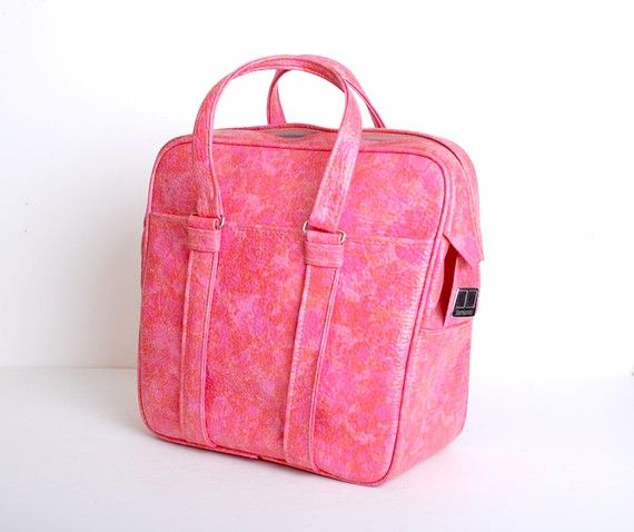 Vintage 60s MOD Pink Samsonite Luggage Tote Bag | Bags, S mod and ...