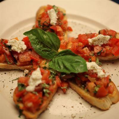Bruschetta Antonio S Pizzeria Italian Restaurant Recette Italienne Recette Italien