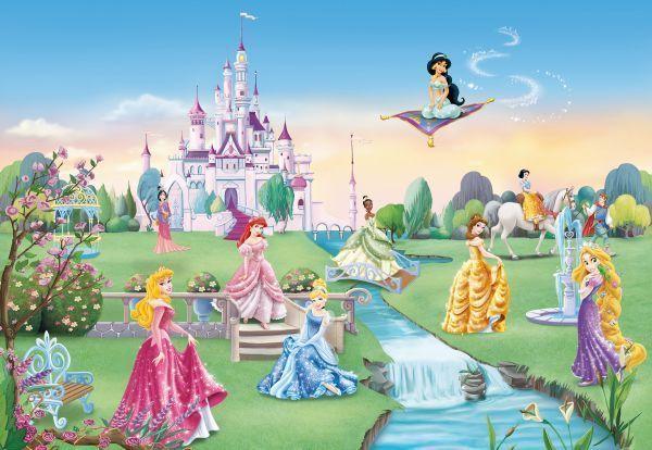 Fototapete Kinderzimmer Kinder Tapete Princess Castle Disney Marchen Cmxcm Ebay