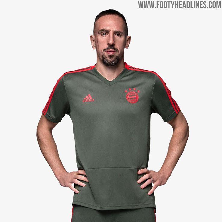 e5a1e912e Bayern Munich 18-19 Training Kit Released - Footy Headlines