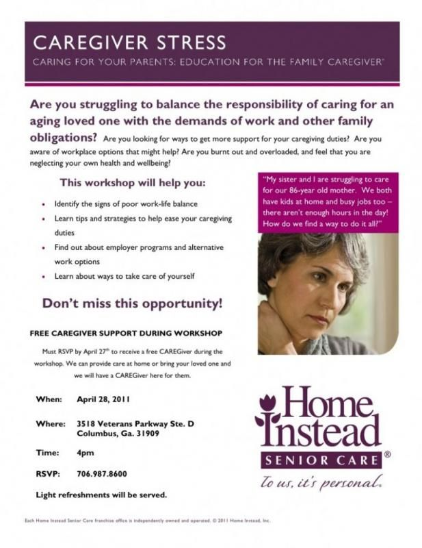 nursing care plan for dementia caregiver stress flyer ...