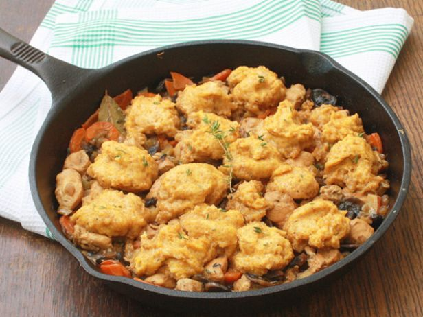 Recipe stick to the ribs chicken stew with butternut dumplings chicken and butternut dumplings food network healthy eats food network healthy living blog forumfinder Images
