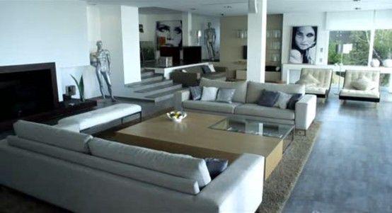 Prachtige woonkamer uit verliefd op Ibiza   Cool Interior Design ...