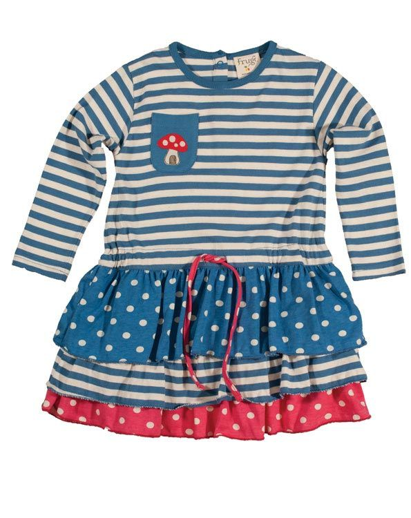 f25b6743f Love this! Frugi Organic Layered Twirly Dress | kiddywinkles ...