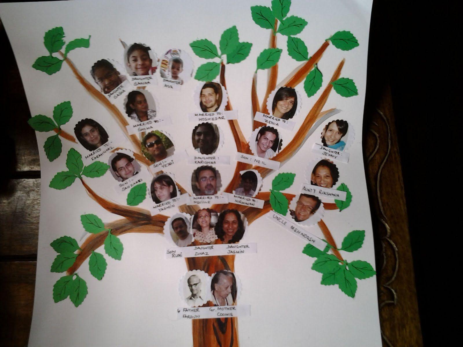 Family Tree School Project Ideas | Crafty stuff ...