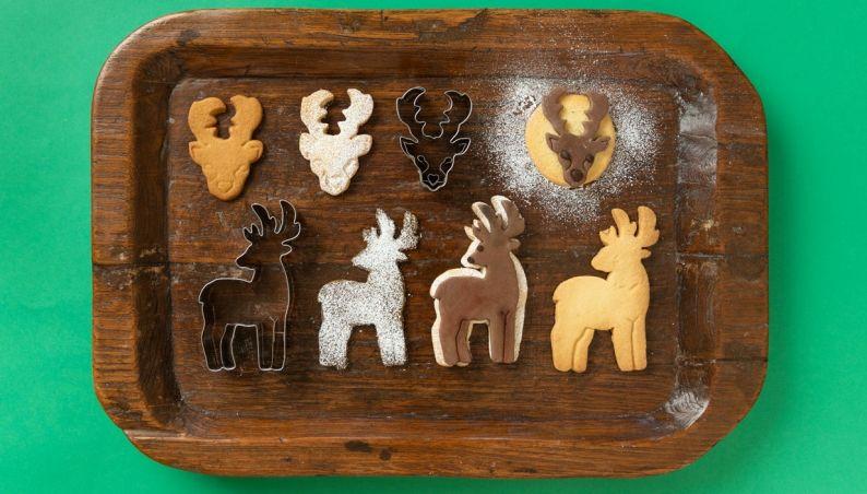 Reindeer Biscuit Cutter