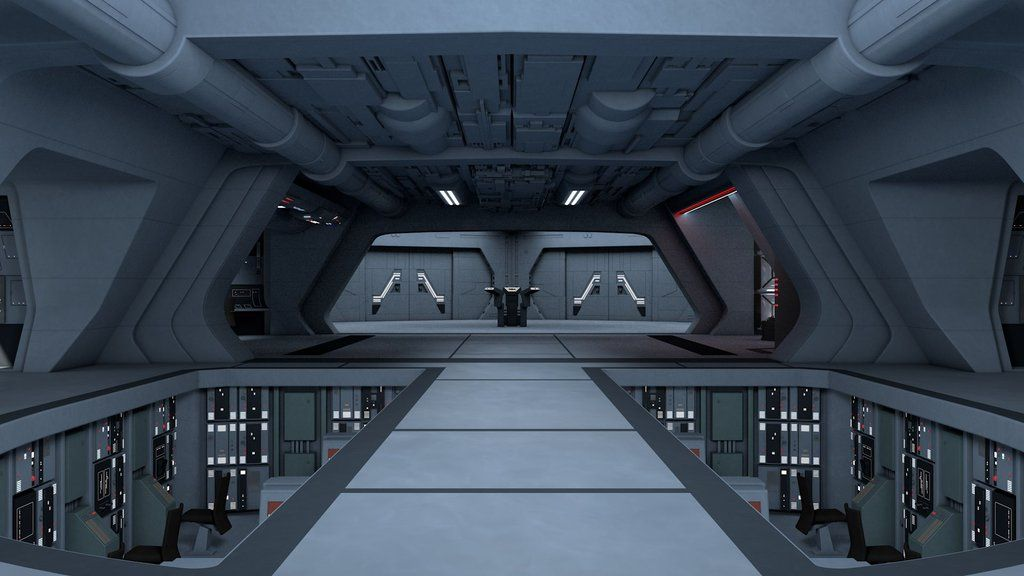 Star Destroyer Bridge By Futuro04 Star Wars Design Star Wars
