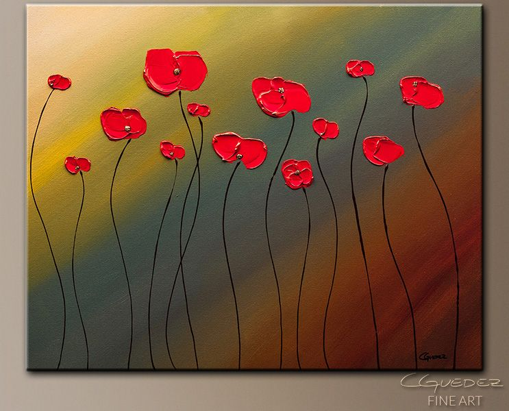 Abstract Flower Paintings | Fill our Hearts with Joy-Abstract Art ...