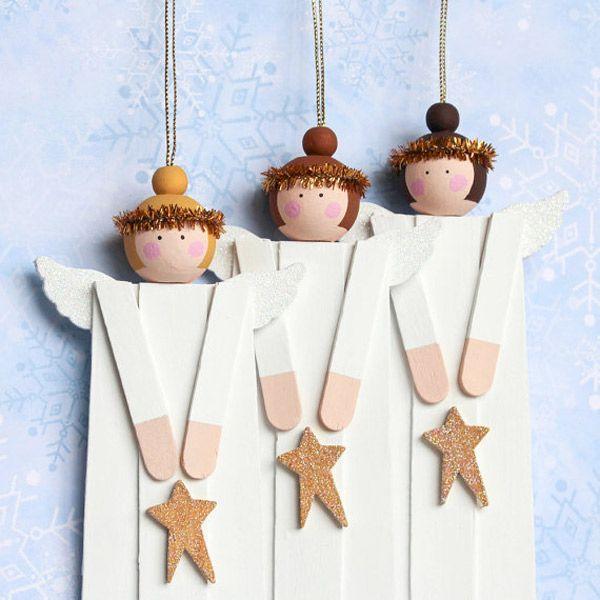 10 adornos caseros para el rbol de navidad adornos - Adornos para arbol de navidad caseros ...