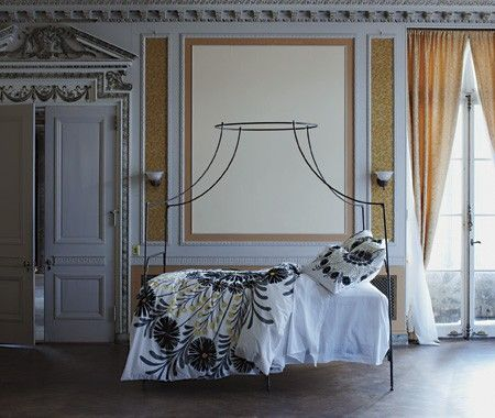 Italian C&aign Canopy Bed // Anthropologie & Photo Gallery: Statement Beds | Italian campaign Canopy and Barn