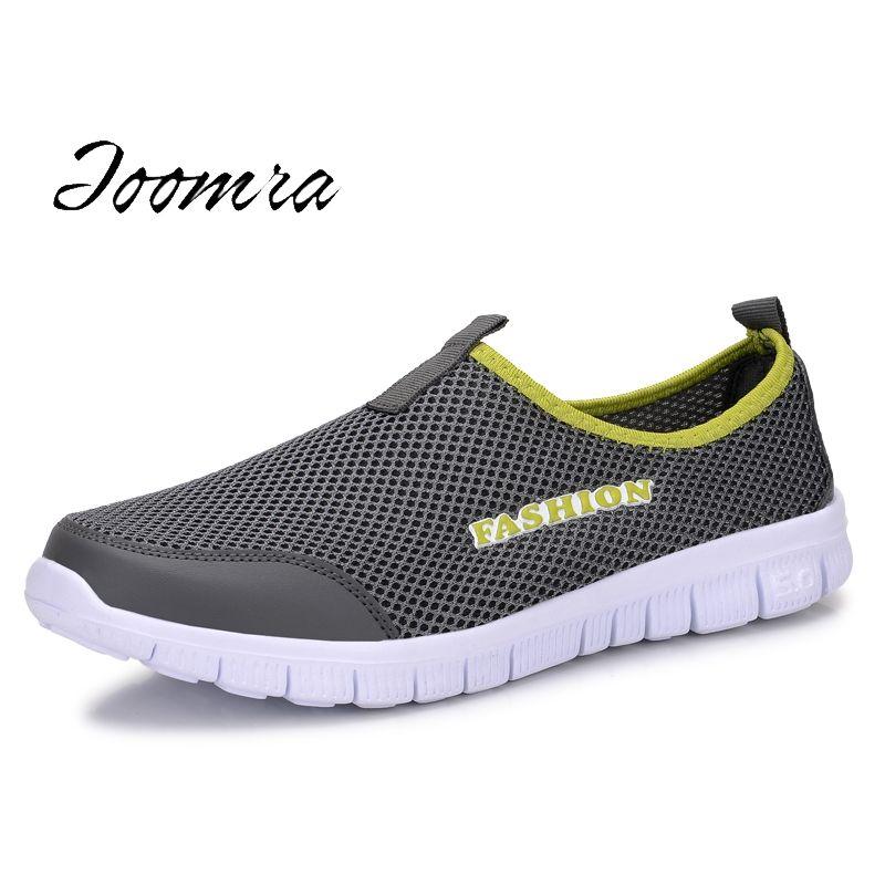 Love Men Slip-On Sneakers Fashion Mesh Walking Shoes
